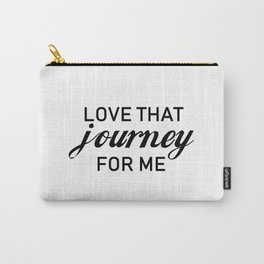 Love that journey for me. Rosebud motel. Rose apothecary. Schitts Creek Carry-All Pouch
