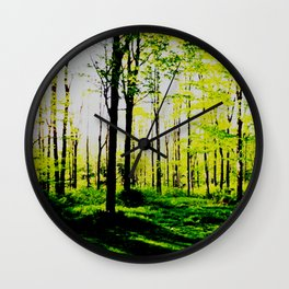 Secrets of Shadows and Light Wall Clock