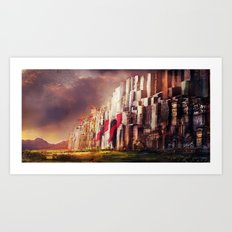 New Jerusalem day52 Art Print