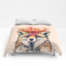 Fox Yeah! Comforters