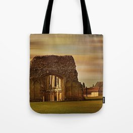 Glastonbury Abbey Tote Bag