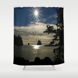Last Sun's Rays For That Day Shower Curtain
