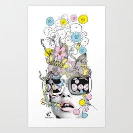 psykéwoman Art Print