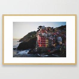 Cinque terre italy Framed Art Print