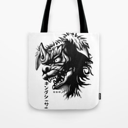 Waterbrushed Shisa Tote Bag