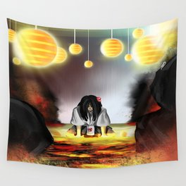 Surrounded by the Cult of the Desert Rose Wall Tapestry