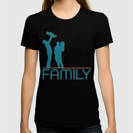 dad family T-shirt