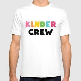 KINDER CREW, Kindergarten teacher T-shirt