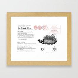 Suhuri Ma (Amalthea sapiens) Framed Art Print