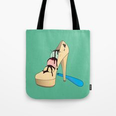 Ice Creamy Shoes Tote Bag