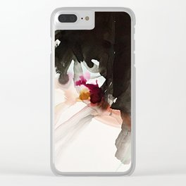 Day 22: There is newness in every moment. The good and bad come all at once. Clear iPhone Case