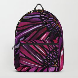 Magenta Gerbera Daisy Backpack