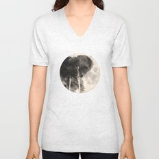The Elephant in The Moon Unisex V-Neck