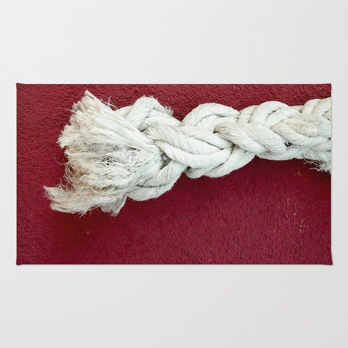 Marine rope Rug