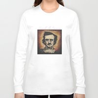 poe Long Sleeve T-shirts featuring Poe by Colunga-Art