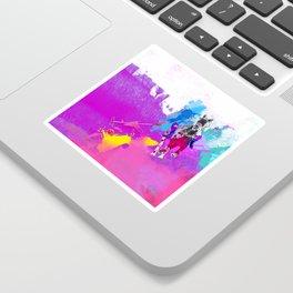 polo abstract Sticker