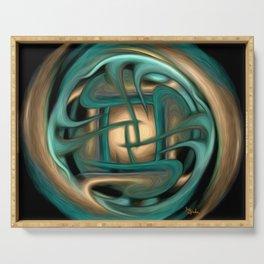 Healing Labyrinth  Serving Tray