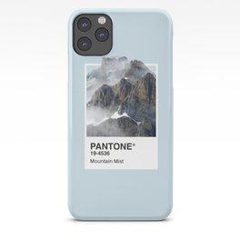 Pantone Series – Mountain Mist iPhone Case