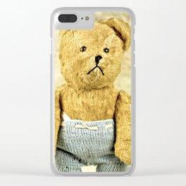 Teddy Bear Clear iPhone Case