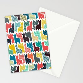 baby llamas Stationery Cards