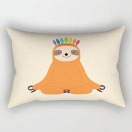 Master Of Calm Rectangular Pillow