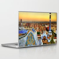 barcelona Laptop & iPad Skins featuring Barcelona by Darla Designs
