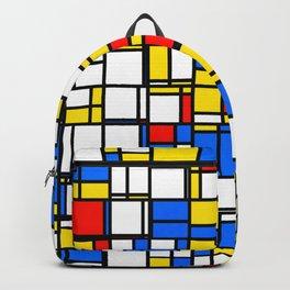 Mondrian Style 2 Backpack