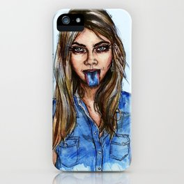 Cara, LOVE Magazine  iPhone Case