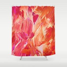 FIRESTORM Shower Curtain