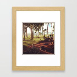 Birthing Stones Framed Art Print