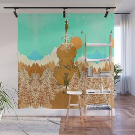 NATURE CELLO Wall Mural