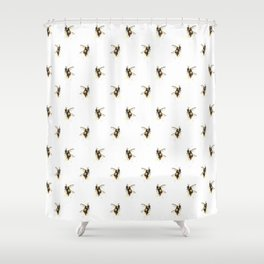 Bumblebee pattern Shower Curtain