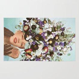 Floral Fashions III Rug