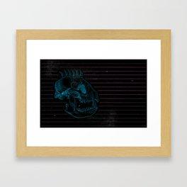 81 Framed Art Print