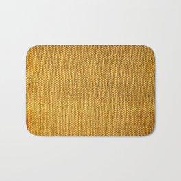 Burlap texture look Bath Mat