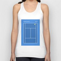 melbourne Tank Tops featuring Melbourne by Heury & Heury