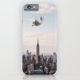 Falling-New York City Skyline iPhone Case