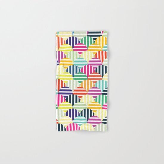 Colorful Circles IV Hand & Bath Towel
