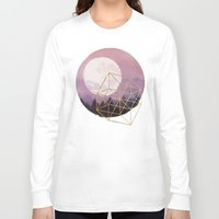 the moon Long Sleeve T-shirts featuring moon by Laura Graves