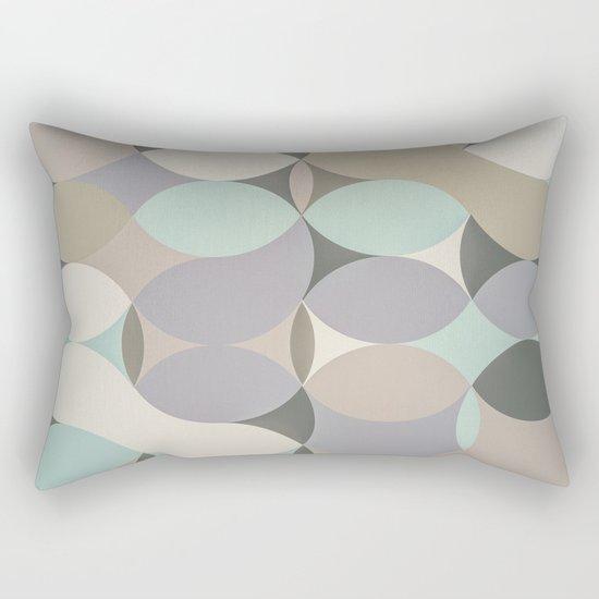 Circles III Rectangular Pillow