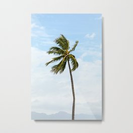 Palm Trees 03, Hawaii Metal Print
