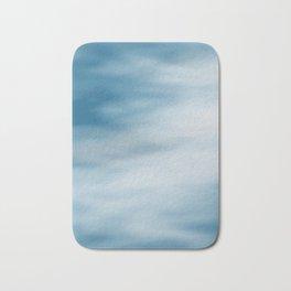 cloudy sky texture Bath Mat