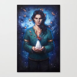 Muse of Nightmares Canvas Print
