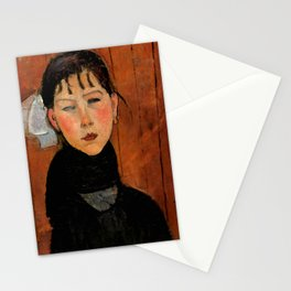 "Amedeo Modigliani ""Marie (Marie, fille du peuple)"" Stationery Cards"