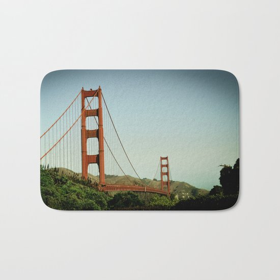 The Golden Gate Bridge at Day Bath Mat