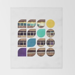 Cold Comfort Collage — Frontline Throw Blanket