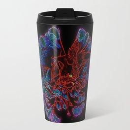 neon flower Travel Mug