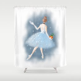 To the Ball Shower Curtain