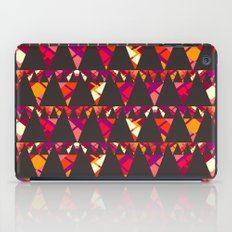 Vibrant triangles iPad Case