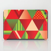 strawberry iPad Cases featuring strawberry by Gray